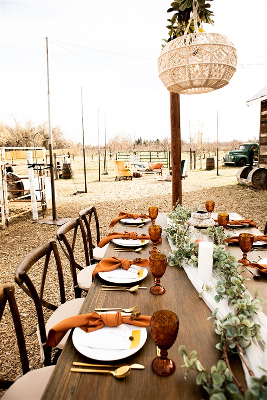 I'm still dreaming about this table set up and all the rental pieces from this shoot. Primary Event Rentals had some really awesome pieces that brought a lot of character to the photos.